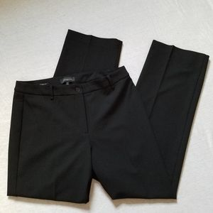 Talbots trouser pants Heritage fit career black 12